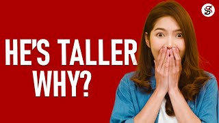 Scientists Explain Why Men Are Usually Taller Than Women