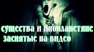 !!!Реальные привидения, существа и инопланетяне заснятые на видео!!!