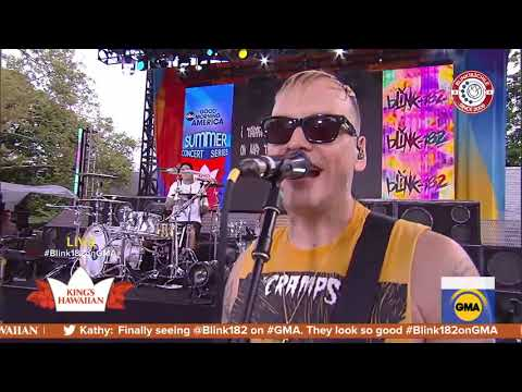 Blink-182 - Blame It On My Youth (live At Good Morning America) (PRO SHOT) - Blink182 Chile
