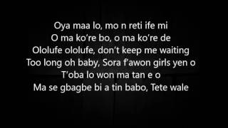 Adekunle Gold ft Simi- No forget lyrics