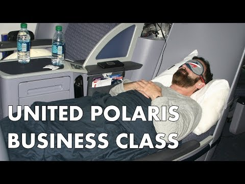 HOW IS UNITED'S POLARIS BUSINESS CLASS? Seat tour and meals – EDI to ORD