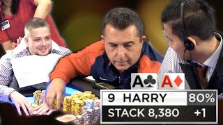 Harry Limps With AA & All Hell Breaks Loose ♠ Live at the Bike!