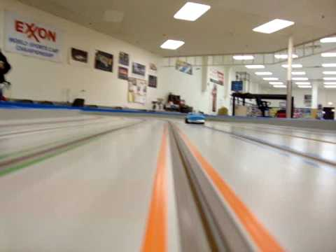 Mid-America raceway's Monster slot car track
