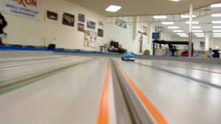 Mid-America raceway's Monster slot car track