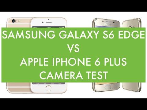 Foto Samsung Galaxy S6 Edge vs Apple iPhone 6 Plus, Camera Test