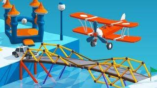Airplane Bridges Break My Brain in Polybridge