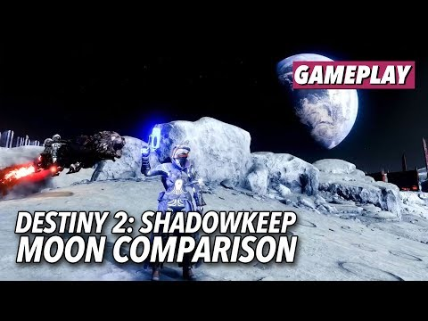 See How The Moon Changed From Destiny To Destiny 2