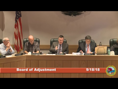 Board of Adjustment 9.18.2018
