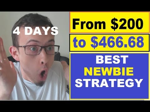 $200 to $466 in 4 days (BEST STRATEGY for DAILY PROFITS)