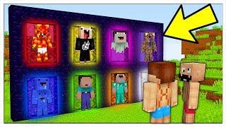 NON ENTRARE NELLE 8 DIMENSIONI DEI NOOB! - Minecraft ITA