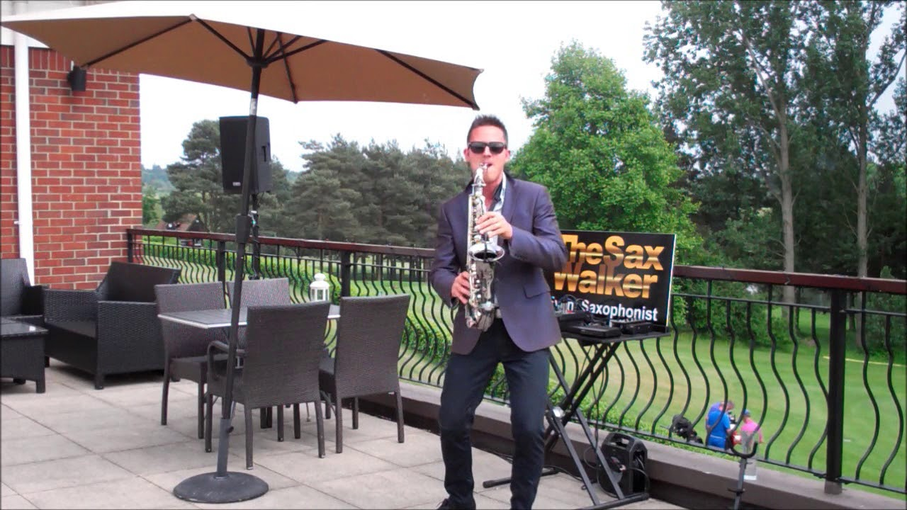 TheSaxWalker – Summer, sunshine & SAX!!! LIVE wedding set.
