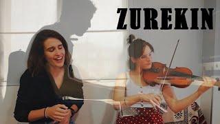 'Zurekin'  kantua:  Itxaso  Sanchez,  Uxue  Sanchez  eta  Imanol  Iribarren