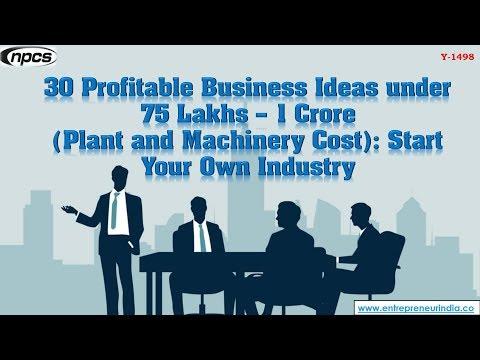 , title : '30 Profitable Business Ideas under 75 Lakhs – 1 Crore