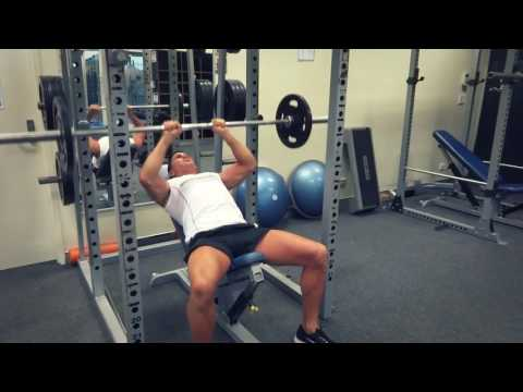 Close Grip Incline Bench Press (Exercises.com.au)
