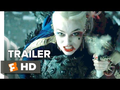 Suicide Squad Official Trailer #2 (2016) - Will Smith, Margot Robbie Movie HD