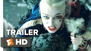 Suicide Squad Official Trailer 2 2016  Will Smith Margot Robbie Movie HD
