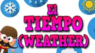 EL TIEMPO METEOROLÓGICO EN INGLÉS (THE WEATHER)  - APRENDE INGLÉS CON MR PEA (ENGLISH FOR KIDS)