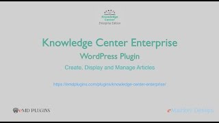 The best Knowledge base plugin for WordPress – Knowledge Center Enterprise – KB Articles