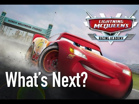 What's Next For Disney Cars? - Disney World Lightning McQueen's Racing Academy Show