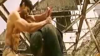 Jay Ho Salman Khan-Climax Scene. Superb Body Showing