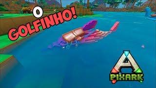 PixARK T2 ep.40 --- DOMAMOS UM GOLFINHO!!