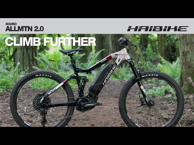 Видео Электровелосипед Haibike XDURO AllMtn 2.0 black/silver/red