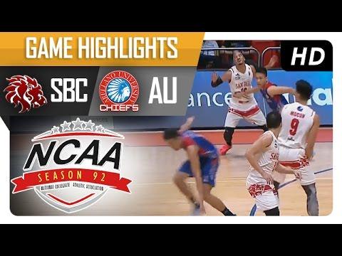 SBC vs AU  | Game Highlights | NCAA 92 | September 27, 2016