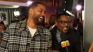 Will Smith and Martin Lawrence on Which Actors Were Supposed to Play the Original 'Bad Boys' (Exc…