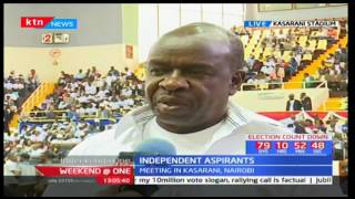 Weekend at One full bulletin part one: Independent aspirants - 20/05/2017