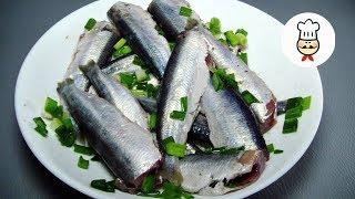 САЛАКА пряного посола - Готовим маринад для салаки  / Волшебная еда - Рецепты рыбы
