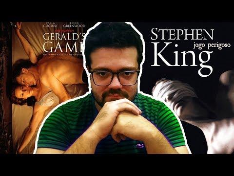 Jogo Perigoso   Netflix   Stephen King   Livro vs Filme   Lidos e Curtidos