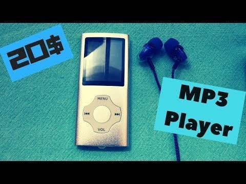 Hotechs MP3 Music Player unboxing review