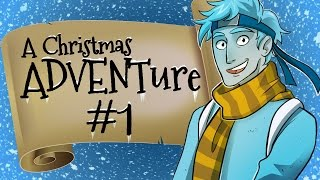 Minecraft Christmas ADVENTure - Welcome To Tinsel Town (Day 1)