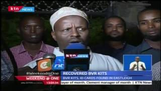BVR Kits, 300 photocopied ID cards recovered in Eastleigh
