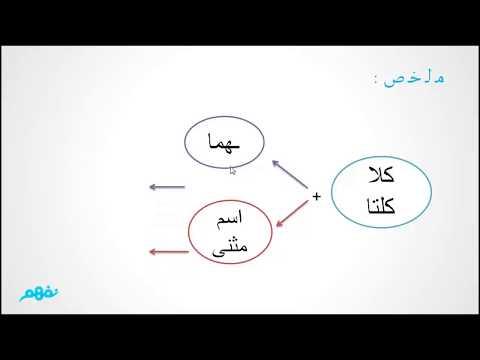 كلا وكلاتا - اللغة العربية - نحو - للثانوية العامة - المنهج المصري - نفهم