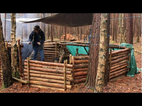 Bushcraft & Survival – Catch, Kill and Cooking Fish at Camp