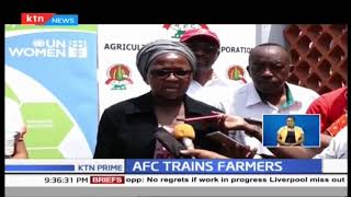 AFC conducts training for farmers in Kilifi County