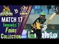 watch Multan Sultans  Fours   Quetta Gladiators Vs Multan Sultans   Match 17   7th March   HBL PSL 2018