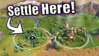 How to Analyze Start Locations in Civ 6 Rise and Fall a Guide to your Settling Strategy