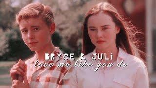 ► Bryce + Juli   |  Love me like you do