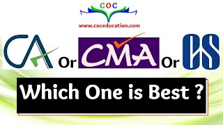 CA or CMA or CS  which one is Best  By CA/CMA Santosh kumar