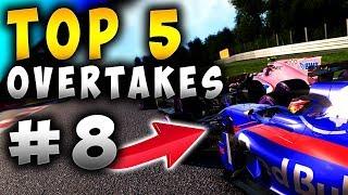 Racing Games | Top 5 Overtakes Of The Week ep8