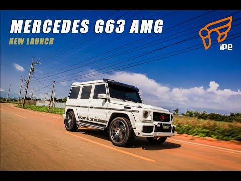 The iPE exhaust for Mercedes G63 AMG