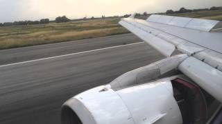 preview picture of video 'Swiss 1732 ZRH-FCO Airbus A320-200 Landing at FCO'