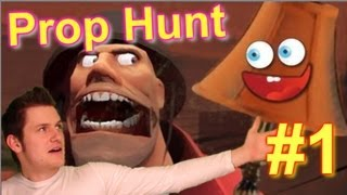 Prop Hunt: Episode 1 Gameplay : Pokerface AAAAAHHHAAAHH !!!
