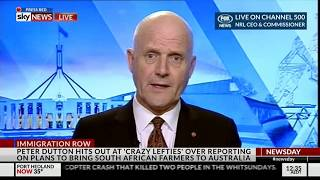 Senator David Leyonhjelm On The South African Crisis