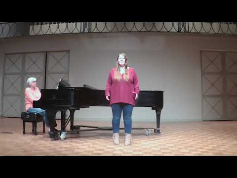 This is an audition video for an opera intensive I attended.