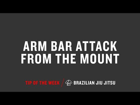 Arm Bar Attack From The Mount