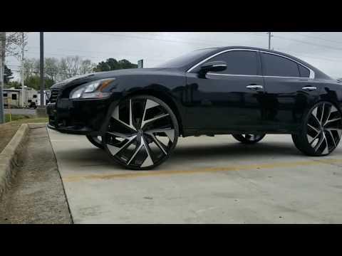 Nissan Maxima on 28s Lexani Wheels