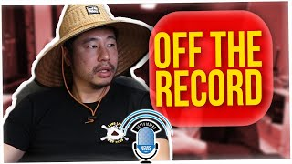 Off The Record: Why the Crew Doesn't Eat On Camera